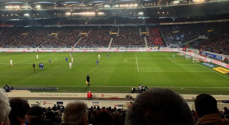 Mercedes-Benz-Arena in Stuttgart