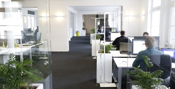 Agenturräume der Agentur für Online-Shops Heilbronn
