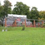 Gartenanlage im Park der Villa