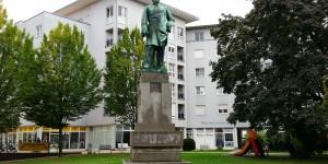 Bismarckdenkmal und Umgebung in Heilbronn