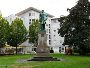 Das Bismarckdenkmal in Heilbronn