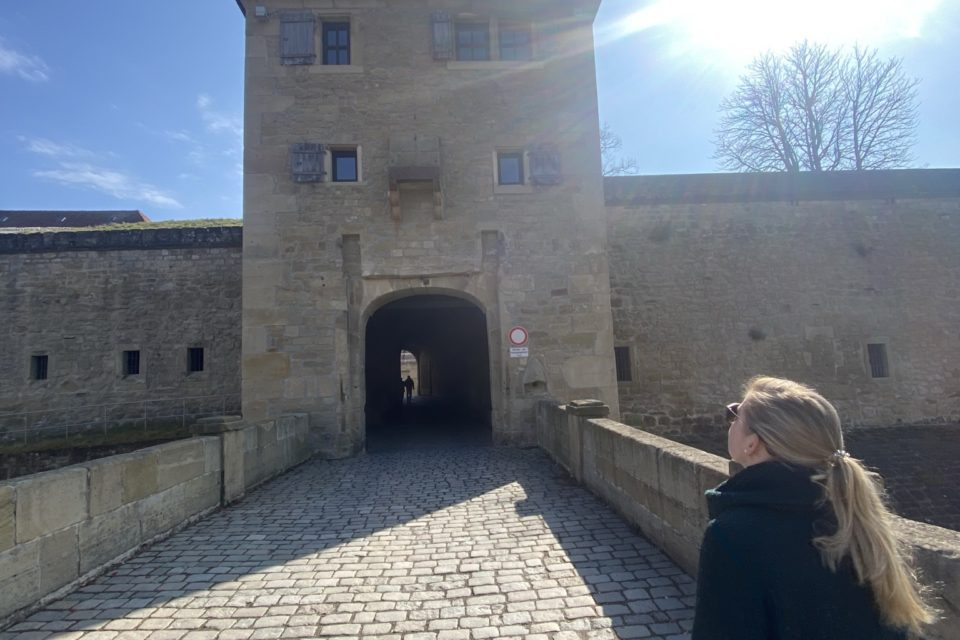 Eingangstor in die Festung Hohenasperg