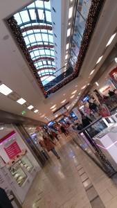 Die Shoppingmal von innen