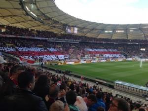 Das Stadion des VfBs