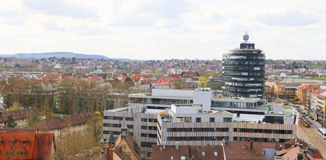 Ausblick auf den Neckarturm