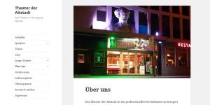 Das Theater der Altstadt im Herzen Stuttgart