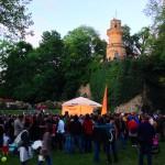 Bühne im Märchengarten