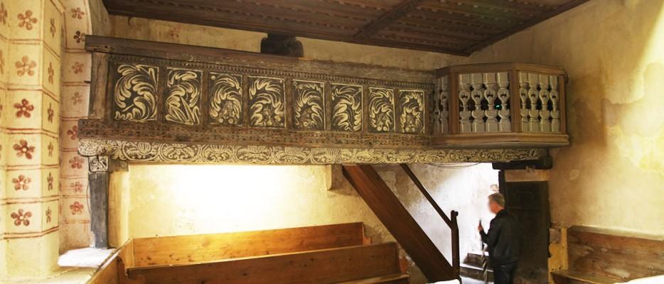 Kapelle der Burg Lichtenberg