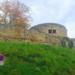 Die Burgruine von außen