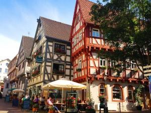 Fachwerkbauten in der Besigheimer Altstadt