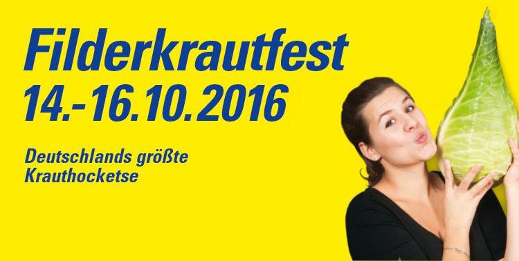 38.Krautfest auf den Fildern 2016