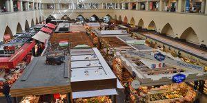 Die Markthalle – mitten in Stuttgart