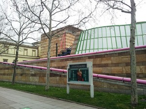 Die Staatsgalerie in Stuttgart