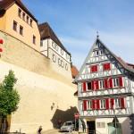 Stadtmauer in Besigheim