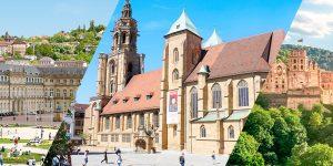 Heidelberg, Heilbronn oder doch Stuttgart? Die Städte entlang des Neckars im Vergleich