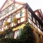 Ein Fachwerkhaus in Weinsberg